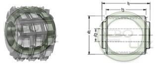NBL24221620 Fresa caracol para estrias Din-5464 Int-16Ext-20 mm Neboluz