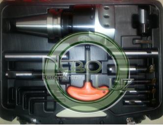 Cabeçote de mandrilhar, cabeçote de broquear 250 mm MAS-BT40