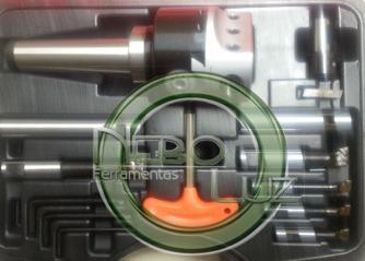 Cabeçote de broquear e cabeçote de rosquear Cm-4 250 mm  Neboluz